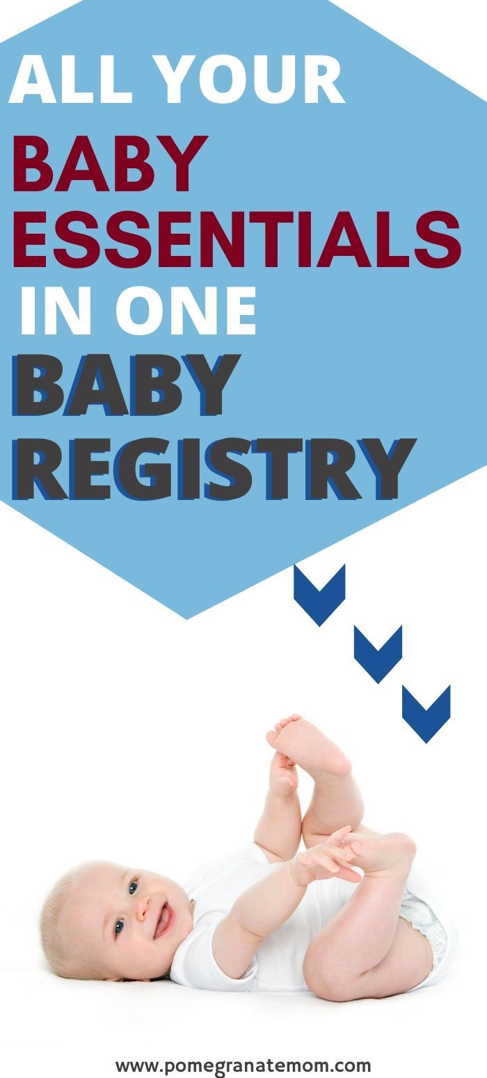 The Only Baby Registry List You'll Need: Printable ...