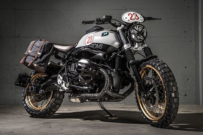 2020 Bmw R Ninet Scrambler Vtr23 By Vtr Customs In 2020 Bmw Motorrad Schwalbe