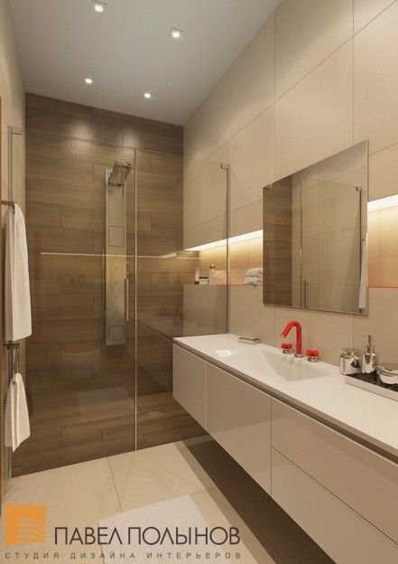 Дизайн гостевой ванной комнаты / bathroom / bathroom decor / bathroom ideas / by Pevel Polinov Studio #design #interior #homedecor #interiordesign