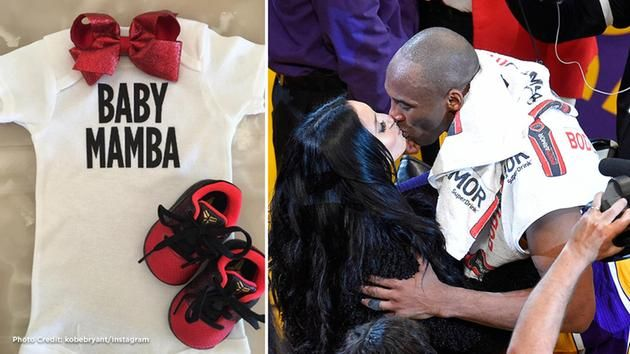 Kobe Bryant and Vanessa Bryant announced they were expecting their third baby girl on Tuesday, July 12, 2016.
