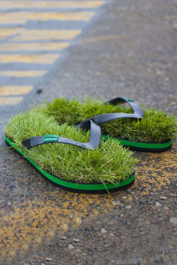 Originals Synthetic Grass Flip Flops