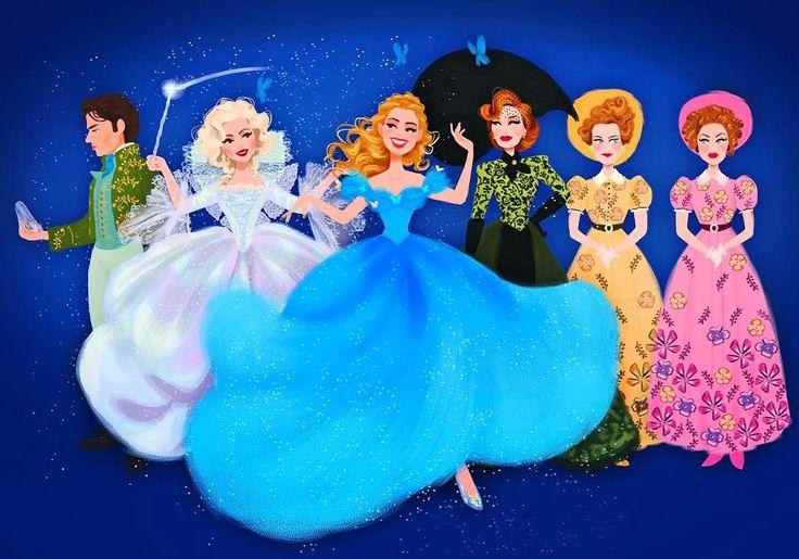 Cinderella live action fan art