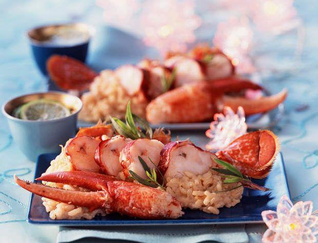 Risotto de homardVoir la recette du Risotto de homard