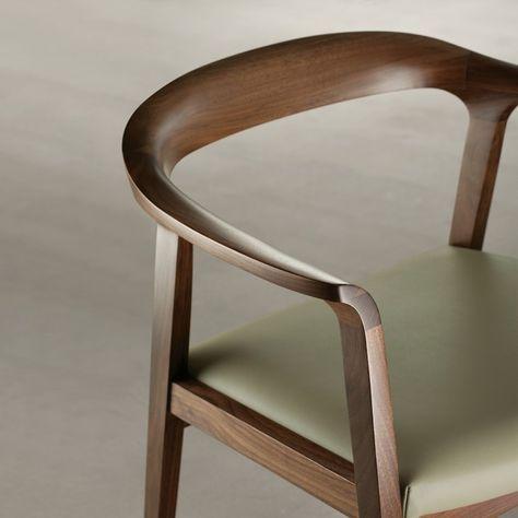 'Willow' Chair in Wa'Willow' Chair in Walnut - Chairs - Seating