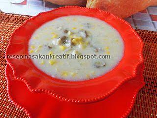Resep Sup Jagung Kental Gurih