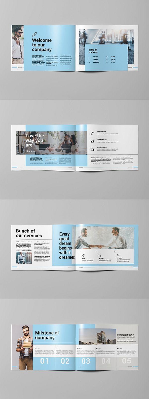 corporate brochure templates free download minimalist brochure design modern bro...