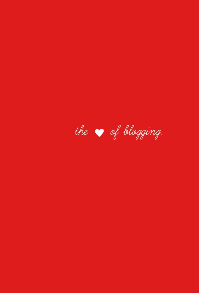 [ getting to] the heart of blogging