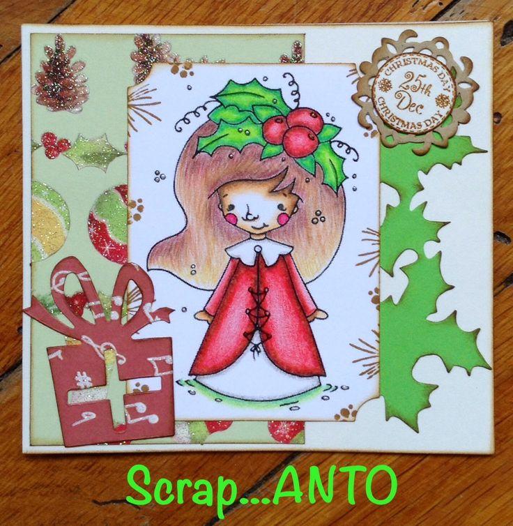 Scrap...ANTO: Una Card natalizia e una Tag