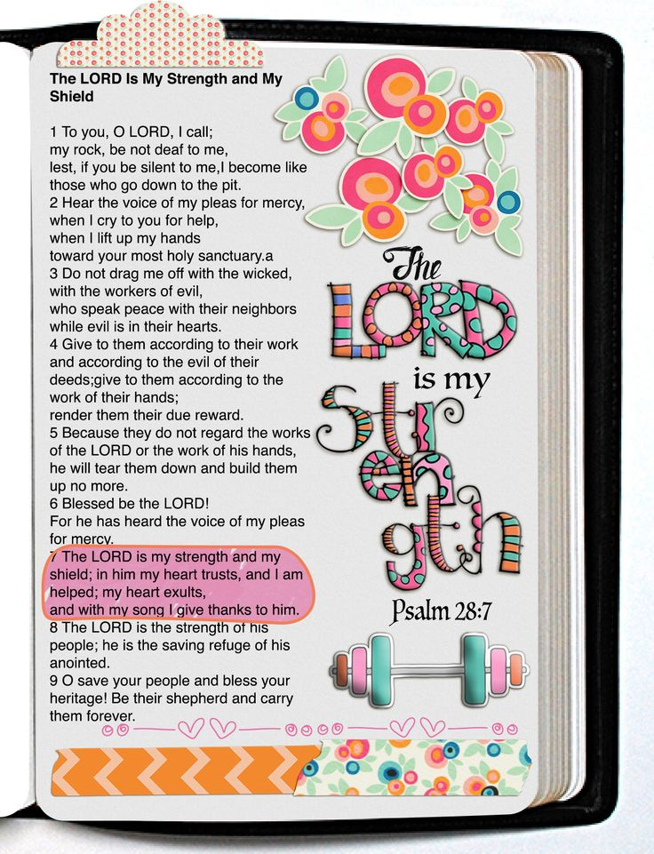 29 best bible journal kits images on pinterest bible journal printable strength bible journaling page kit print on sticker or copy paper adhere into bible margins or planners fandeluxe Choice Image