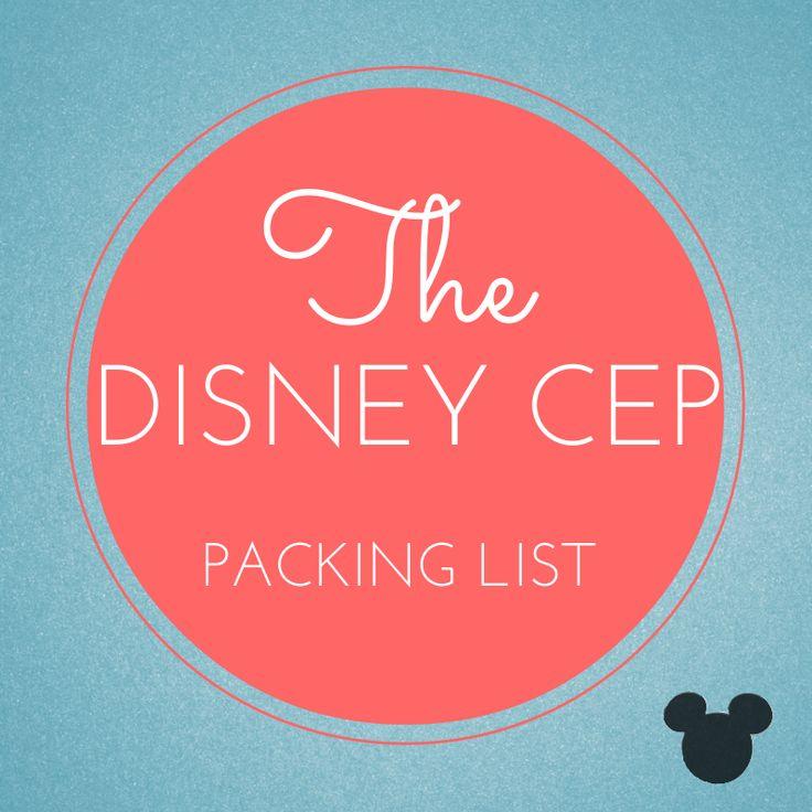 Disney CEP Cultural Exchange Program Packing List