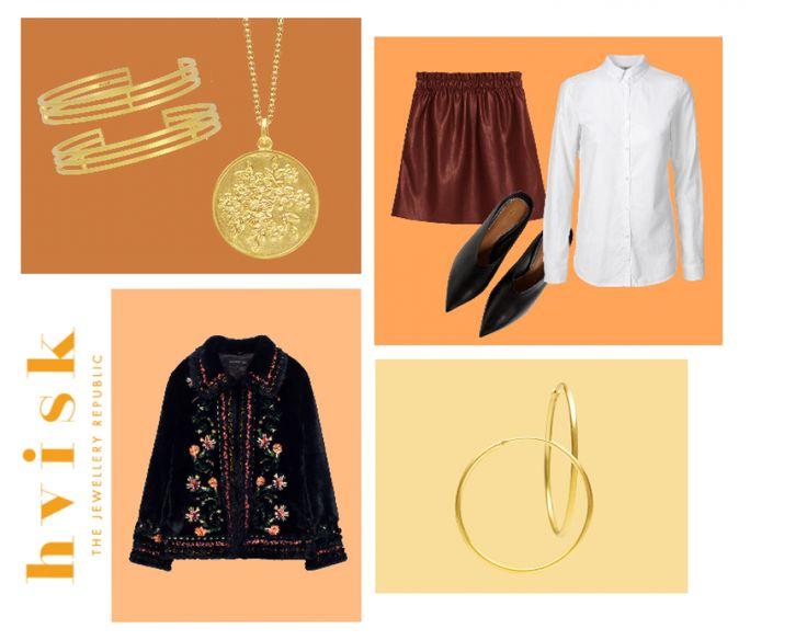 Styling by oliviabergin showing Trivium Bracelet Gold, Blossom haze Pendant Gold  and Loop Earring Fine Gold #jewellery #Jewelry #bangles #amulet #dogtag #medallion #choker #charms #Pendant #Earring #EarringBackPeace #EarJacket #EarSticks #Necklace #Earcuff #Bracelet #Minimal #minimalistic #ContemporaryJewellery #zirkonia #Gemstone #JewelleryStone #JewelleryDesign #CreativeJewellery #OxidizedJewellery #gold #silver #rosegold #hoops #armcuff #jewls #jewelleryInspiration #JewelleryInspo…