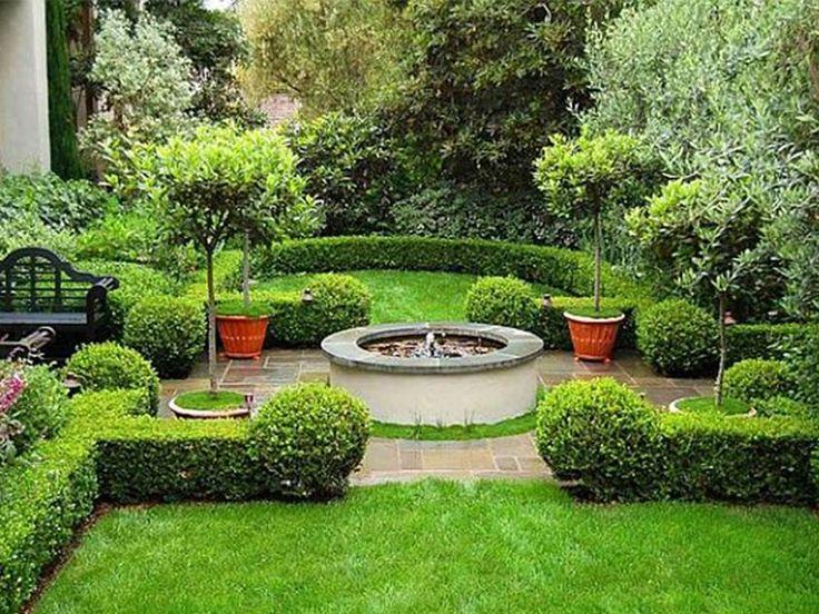 Wonderful Modern Simple Garden Design