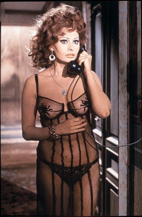Deshabillé - Sophia Loren, la belleza italiana - Libertad Digital