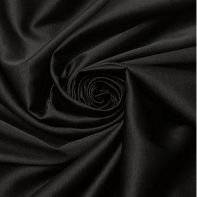 Tecido shantung com elastano preto - Maximus Tecidos | Loja Online