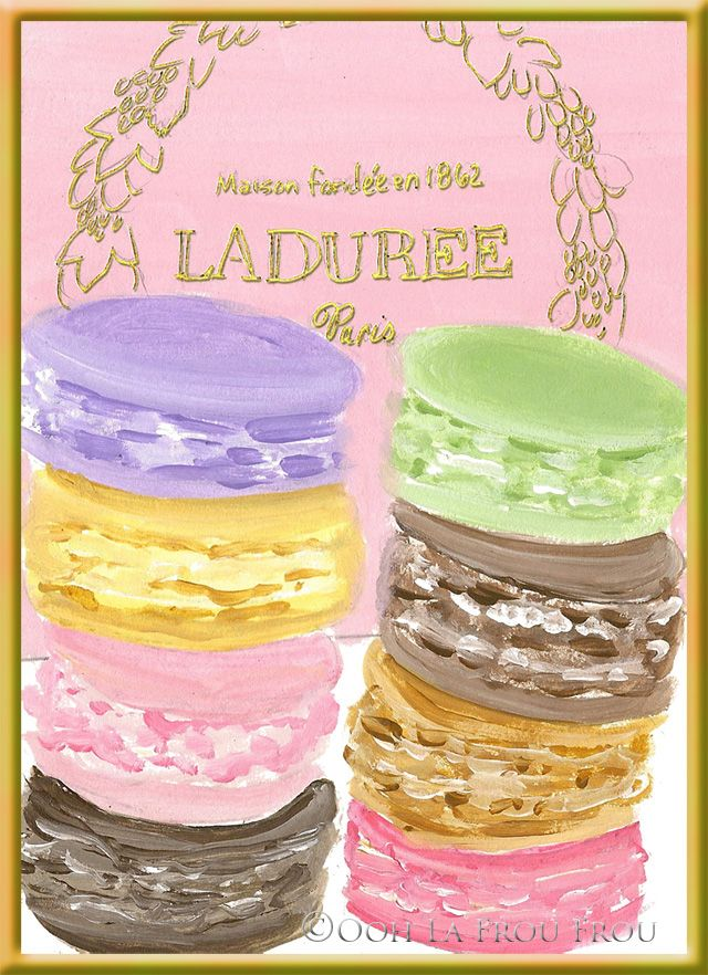images about Ladurée Macarons, Paris