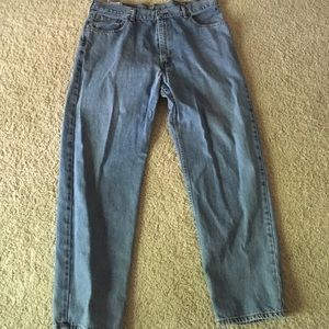 I just added this to my closet on Poshmark: Levi Jeans. Price: $13 Size: Waist 40 X Length 32