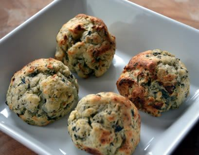 Potato and herb balls food combining recipe for the Hay Diet