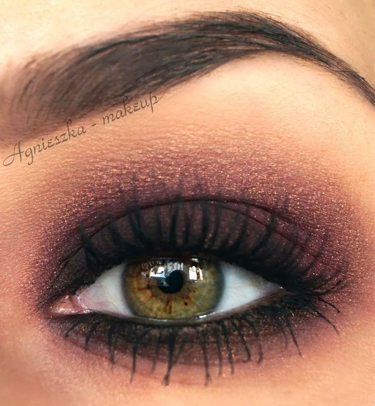 Agnieszka - Makeup blog: Hot Look to Smoky Look + tutorial