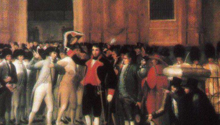 19 de abril Proclamación de la Independencia en Venezuela.