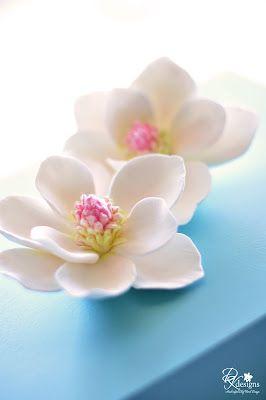 DK Designs: Magnolia Hair Flowers....