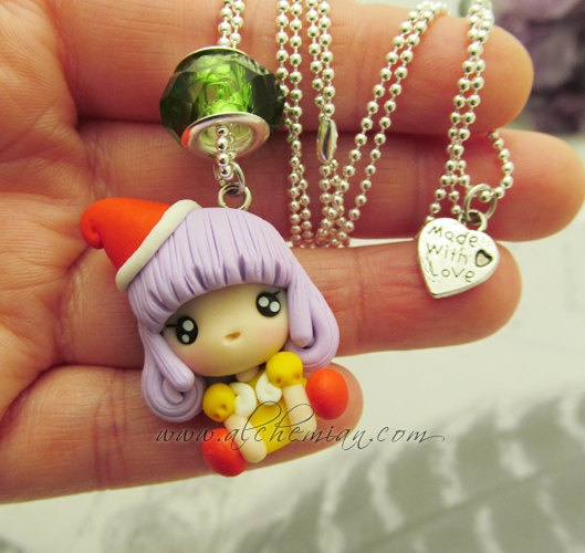 OMG Memole!!!!!!! Qué recuerdos!!! ***** Chibi Tongari Boshi no Memoru memole ooak by AlchemianShop