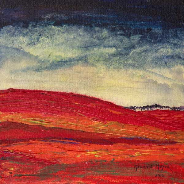 """Autumn Hills 02"" by Melanie Meyer from her Emergence Art Gallery in Cape Town"