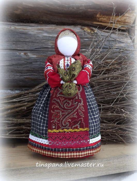 """Обереги, талисманы, амулеты ручной работы. Ярмарка Мастеров - ручная работа. Купить """"Душа"""" по мотивам традиционной куклы. Handmade. Берегиня"""