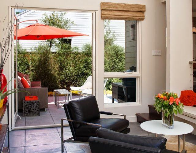 Design Hub - блог о дизайне интерьера и архитектуре: Коттедж в Калифорнии с патио для приема гостей