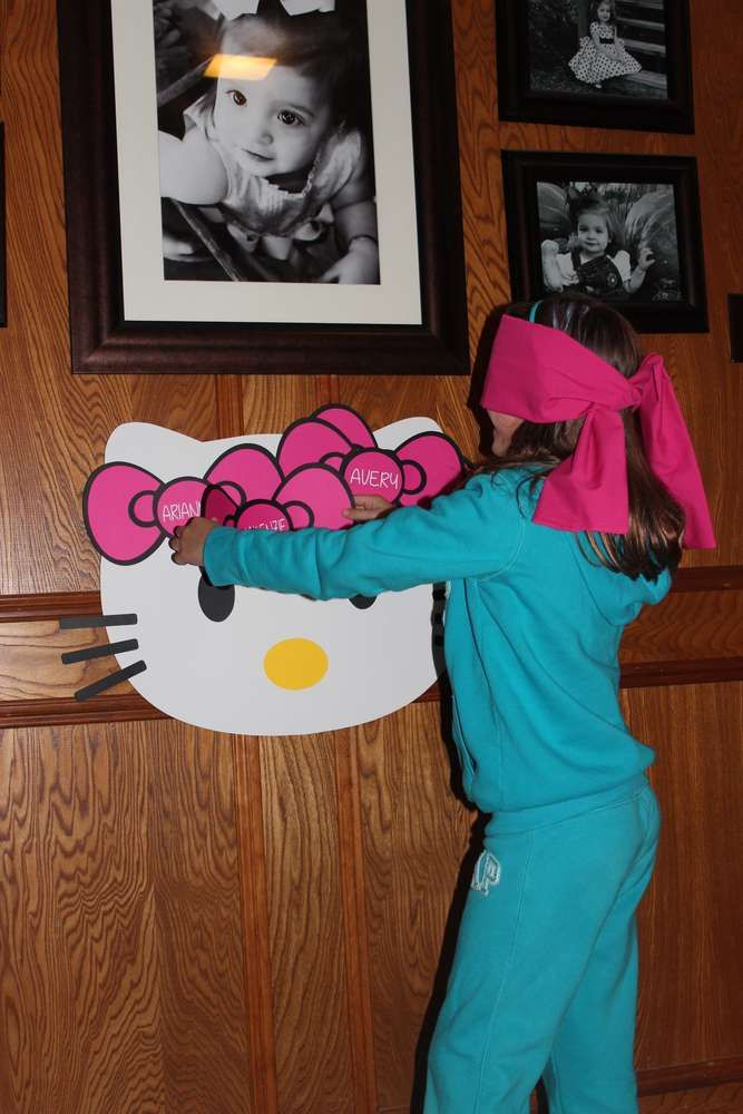 Hello Kitty Birthday Party Ideas | Photo 18 of 39 | Catch My Party