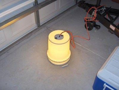 The Homestead Survival | Homemade Super Inexpensive Bucket Camp Light | http://thehomesteadsurvival.com