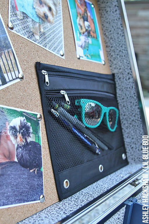 How to make your own DIY summer camp trunk accessories