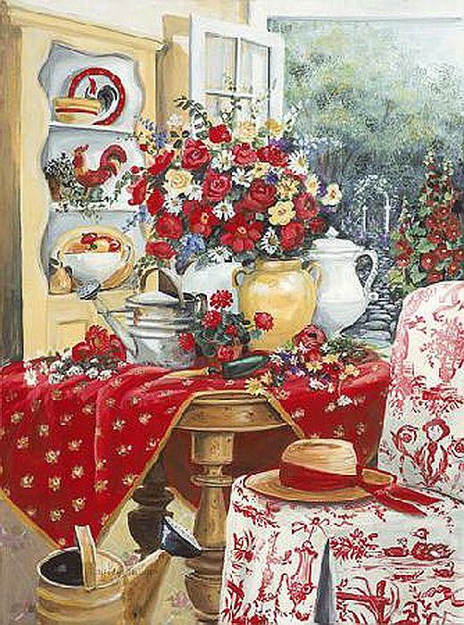 Mary Kay Crowley Pinturas De Interiores Sala Pinterest