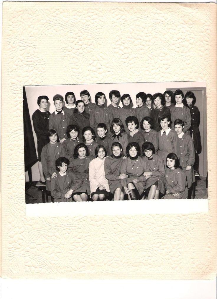 Photo de classe Saint Michel 1ère année CAP de 1965, Collège Saint-michel - Copains d'avant