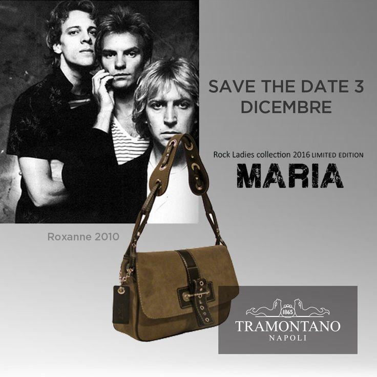 #SaveTheDate #RockLadiesCollection2016 #WaitingForMaria #bags #fashion #Tramontano #LimitedEdition