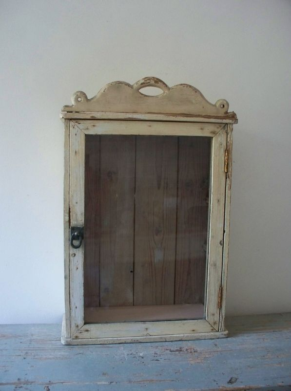 Attractive Painted Cupboards, Wall Cabinets, Display Cabinets, Antique Cupboard,  Sweet, Vintage Diy, Annie Sloan, Cottage Style, Shelving