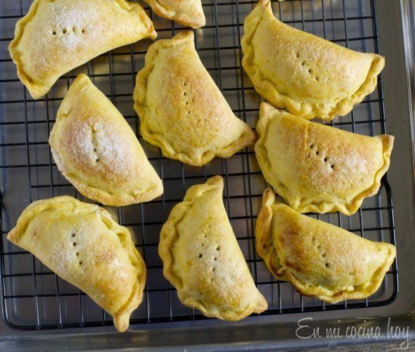 Pear Empanadas, Chilean recipe - En Mi Cocina Hoy