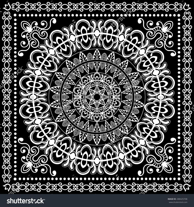 stock-vector-black-and-white-bandana-print-silk-neck-scarf-or-kerchief-square-pattern-design-style-for-print-on-288425708.jpg (1500×1600)