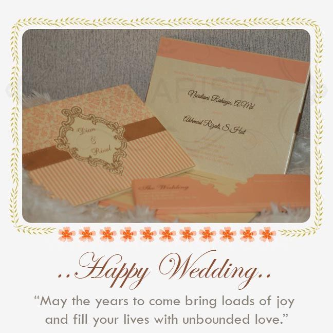 Happy Wedding for Wonderfull Couple ❣  ❦ Nurdiani Rahayu, A. Md & Akhmad Rijali, S. Hut ❦  ~09 Oktober 2014~  Info & Pemesanan Kartu Undangan Hub : 022-5223378/70706073 Jl. Pasirluyu Timur No. 155-157 Bandung... Cetak Cepat & Rapi, Harga Murah bs disesuaikan dgn budget, Desain dpt dirubah sesuai keinginan..  #kartu #undangan #pernikahan #samarista #wedding #invitation #card #hard #soft #cover #perkawinan #best #seller #cetak #cepat #murah #jasa #pesan #acara #khitanan #brosur #souvenir