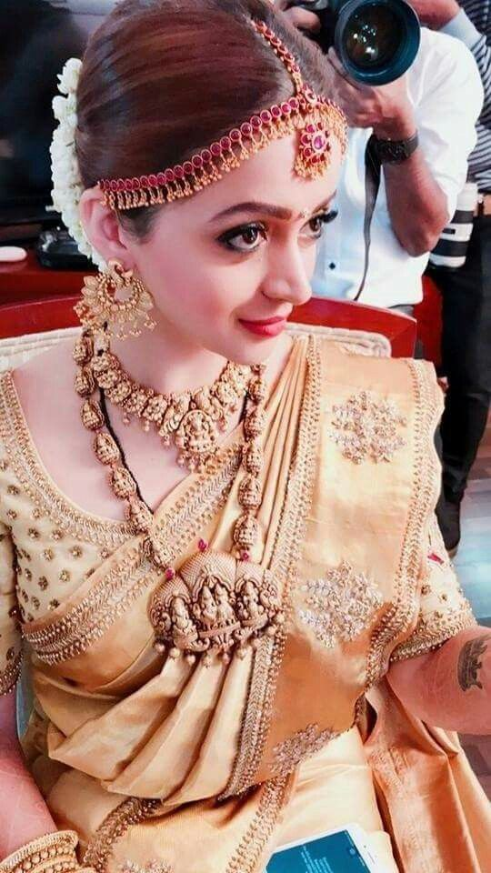 Temple jewellery for weddings