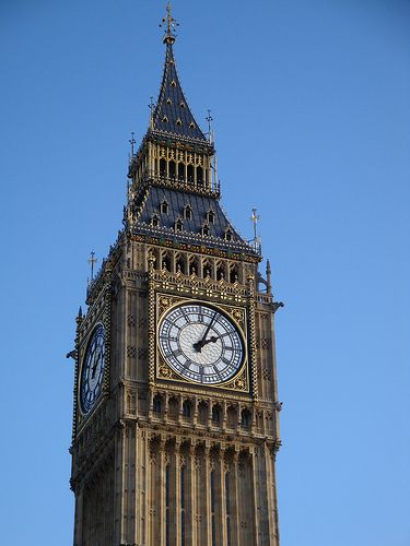 Big Ben, London Although actually it was covered in scaffolding the entire six weeks I was there!