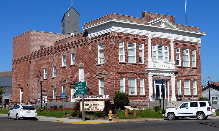 Elgin City Hall and Opera House in Union County, Oregon.
