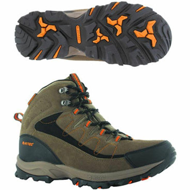 Hi-Tec UTAH II Mens Waterproof Walking Hiking Trekking Boots O002302-041-01
