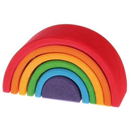 kleine regenboog stapeltoren 6 bogen | grimm's