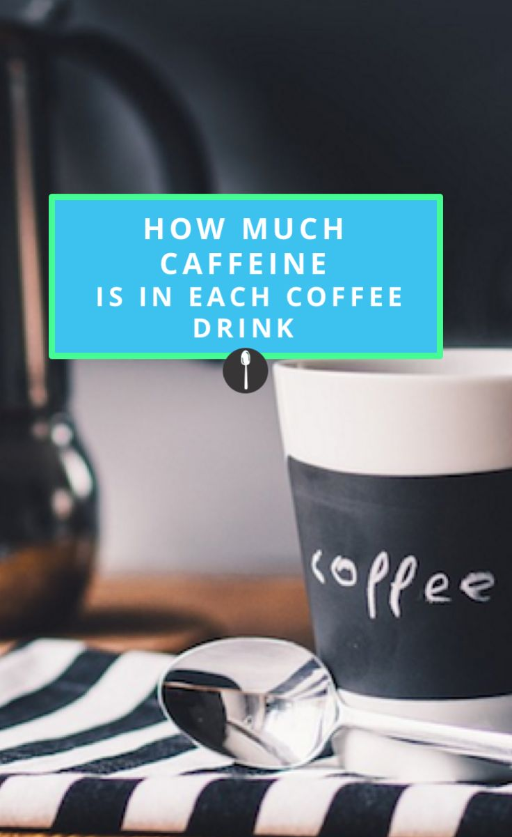 This Is How Much Caffeine Is In Every Kind Of Coffee Drink Huis Design 2018 Beste Huis Design 2018 [somenteonecessario.club]