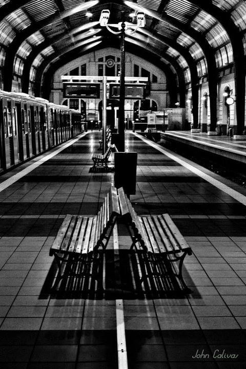 at the Piraeus train station, Greece -- Photo by: John Calivas