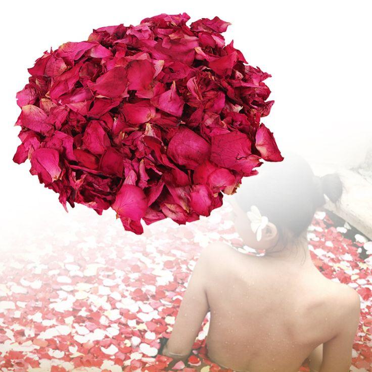 100g Kering Kelopak Mawar Mandi Alat Kering Alami Bunga Kelopak Spa Whitening Mandi mandi kaki kelopak wanita perawatan kecantikan A2