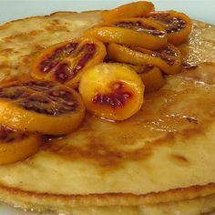 Try this Pancakes with Poached Tamarillo recipe by Chef Paul West . This recipe is from the show River Cottage Australia.