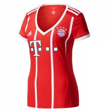 Maillot Bayern Munich Femme 2017-2018 Domicile