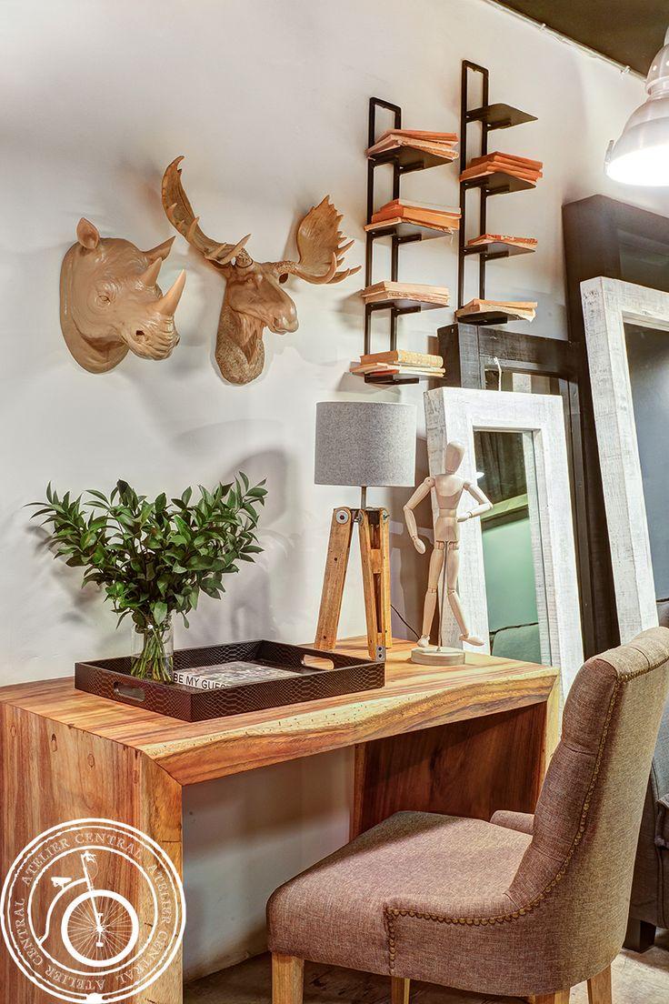 36 best inspiraciones atelier central images on pinterest for Decoracion oficina
