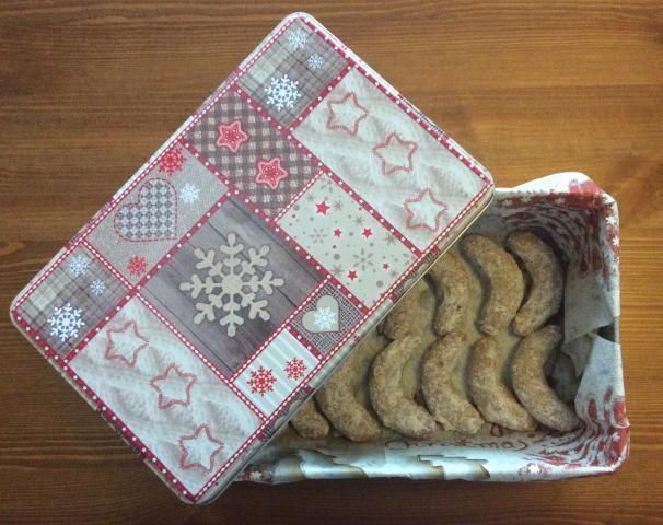 Bezlepkové mandľovo-vanilkové rožky, Drobné pečivo, recept | Naničmama.sk